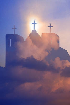 Three Crosses Art Print by Jim Zuckerman