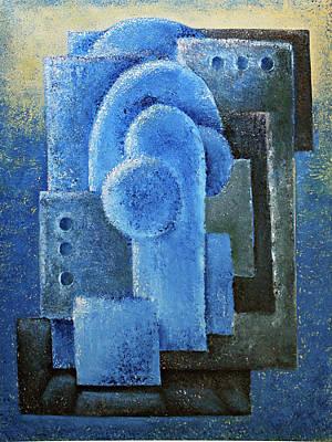 Painting - Three Days by Siyavush Mammadov