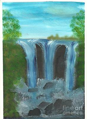 Painting - Three Falls by Tracey Williams