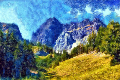 Digital Art - Three Fingered Jack by Kaylee Mason