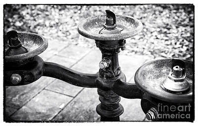 Photograph - Three Fountains by John Rizzuto