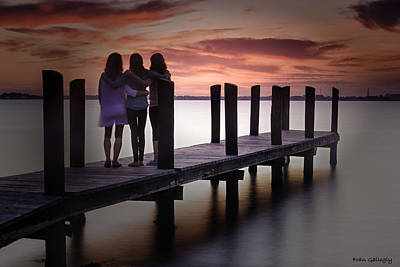 Photograph - Three Friends by Fran Gallogly