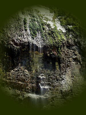 Photograph - Three Gorges - Yangtze River - Waterfall by Jacqueline M Lewis
