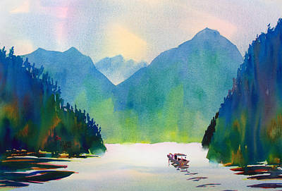 Painting - Three Gorges by William Duncan