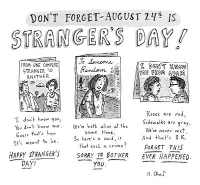 Three Greeting Cards Are Shown To Celebrate Art Print by Roz Chast