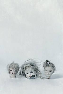 Three Heads Art Print by Joana Kruse