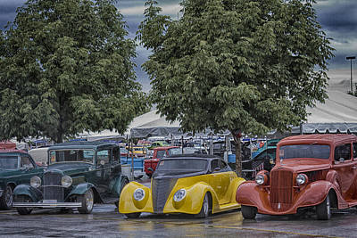 Photograph - Three In A Row by Jack R Perry