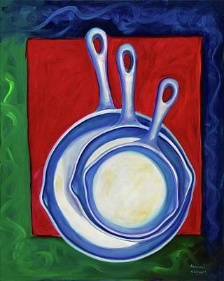Painting - Three Irons by Shannon Grissom