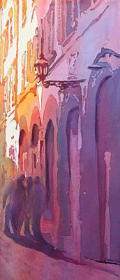 Painting - Three Italians by Jenny Armitage
