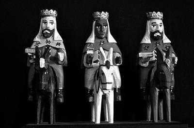 Photograph - Three Kings B W by Ricardo J Ruiz de Porras