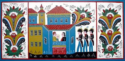Three Kings Art Print by Leif Sodergren