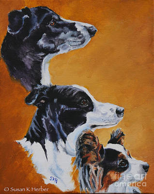 Painting - Three Kings by Susan Herber