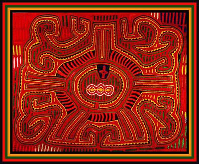 Digital Art - Three Layers Of The World by Vagabond Folk Art - Virginia Vivier