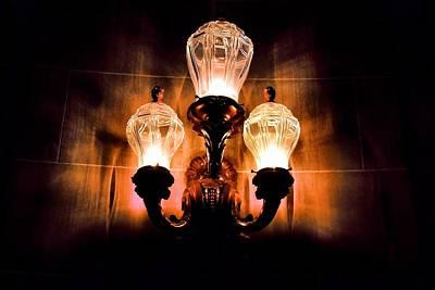 Photograph - Three Lights by Bob Wall