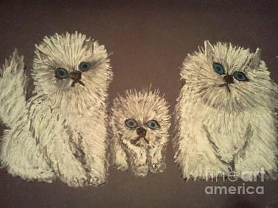 Three Little Kittens Original by Neil Stuart Coffey