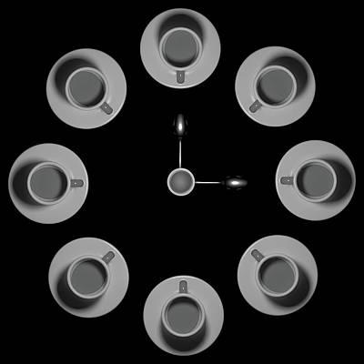Clock Wall Art - Photograph - Three O'clock by Antonyus Bunjamin (abe)