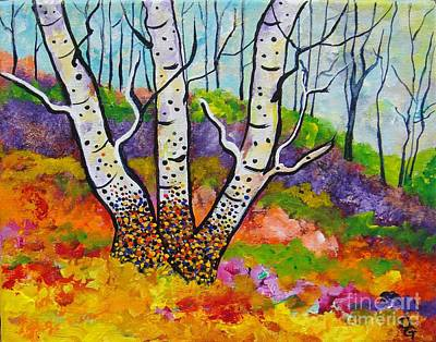 Painting - Three Of A Kind by Deborah Glasgow