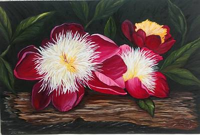 Painting - Three Of A Kind by Renate Voigt