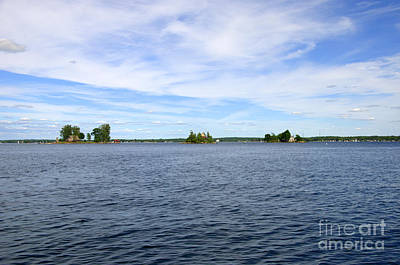 Photograph - Three Of The 1000 Islands Only 997 To Go by Linda Rae Cuthbertson