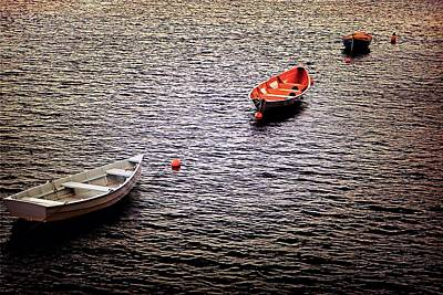Photograph - Three Philly Boats by Beth Akerman