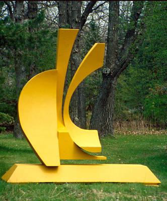 Sculpture - Three Queens - Evolution- by Richard Arfsten
