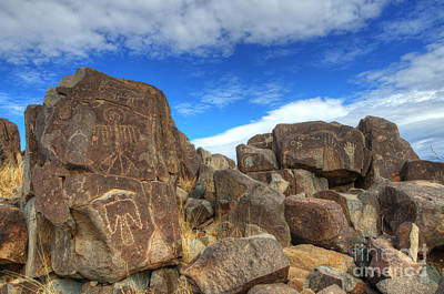 Photograph - Three Rivers Petroglyphs 2 by Bob Christopher