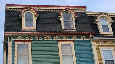 Photograph - Three Rounded Windows by Douglas Pike