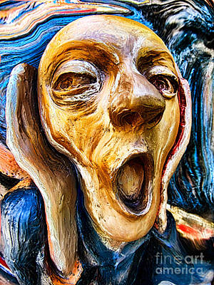 Photograph - Three Screams by Mark Miller
