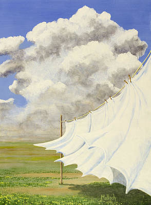 Painting - Three Sheets To The Wind by Jack Malloch