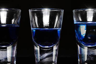 Three Shot Glasses Original by Tommytechno Sweden