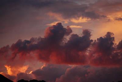 Three Sister Clouds Art Print