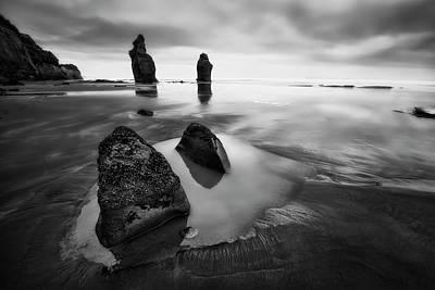 New Zealand Photograph - Three Sisters Beach by Yan Zhang