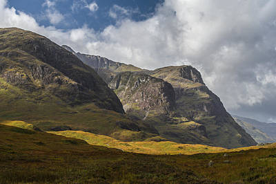 Photograph - Three Sisters Glencoe by Gary Eason
