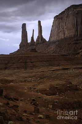 Photograph - Three Sisters by Stuart Gordon