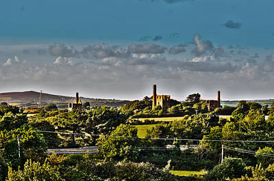 Tin Photograph - Three Towers by Paul Howarth