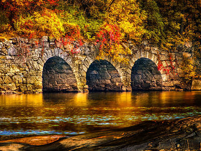 Androscoggin Photograph - Three Tunnels by Bob Orsillo