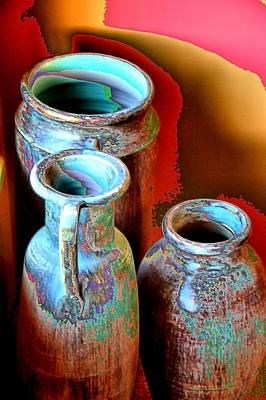 Three Urns Art Print
