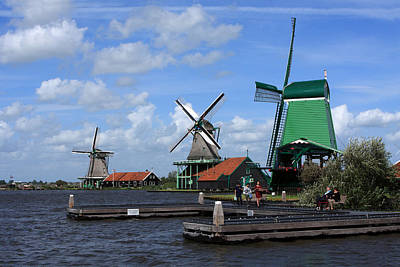 Photograph - Zaanse Schans, Amsterdam, The Netherlands by Aidan Moran