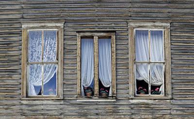 Three Windows Art Print by Geraldine Alexander