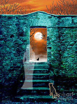 Digital Art - Threshold by Cristophers Dream Artistry