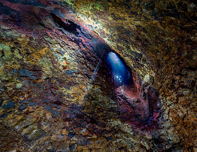Magma Photograph - Thrihnukagigur Three Peaks Crater by Panoramic Images