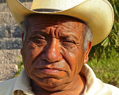 Working Cowboy Photograph - Thrilled by Eye Browses