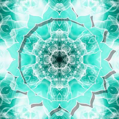 Digital Art - Throat Chakra Capricorn by Derek Gedney