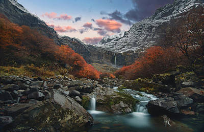 Mountain Stream Wall Art - Photograph - Throat Of The Earth by Rodrigo Gerhardt Barbosa