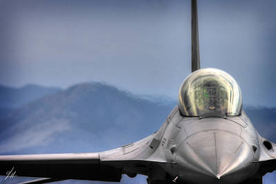 F16 Photograph - Throttle Up by Brandon Griffin