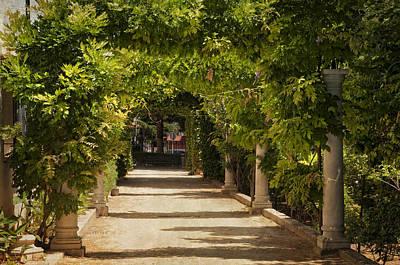 Photograph - Through Green Gate. Ronda. Spain by Jenny Rainbow
