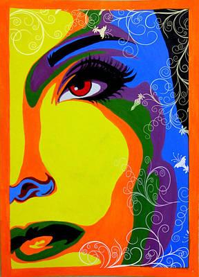 Painting - Through My Eyes by Tanya Anurag