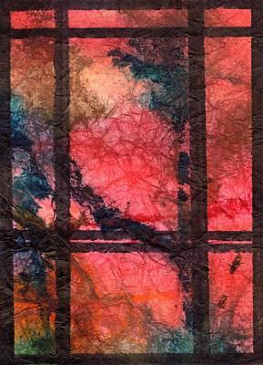 Through My Window 21 Art Print