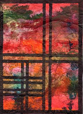 Through My Window 22 Art Print