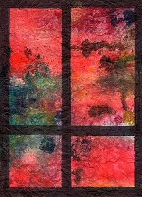 Through My Window 23 Art Print